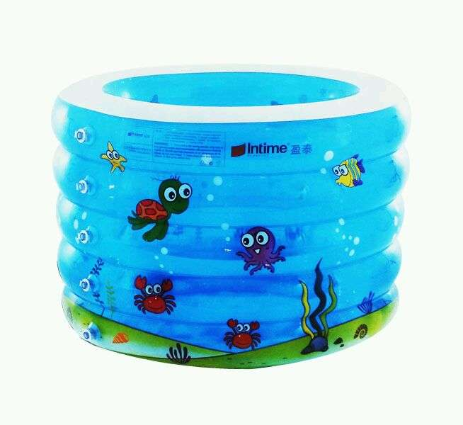 Kolam Baby spa bulat intime bonus neck ring 0