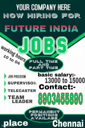 JOB VACANCIES at Chennai