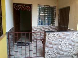1BHK fully furnished flat for working singles on sharing basis.