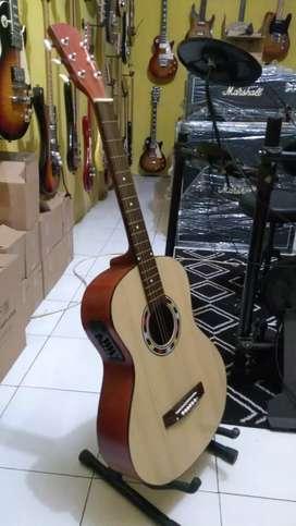 Gitar akustik pemula elektrik new