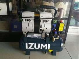 Kompressor / Compressor tanpa Oli IZUMI 3/4 HP, 075HP Oilless OL 07-09