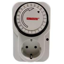 Stop Kontak Timer Programme 24 Jam Manual Kitani