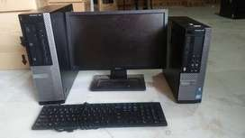 """DELL Core i3 Desktop Rs 10500 Only Ram 4GB Hardisk 500GB LCD 17"""""""