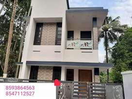 4 Cent 1600 Sq. Ft 3Bhk House In Asramam