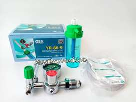 Regulator Tabung Oksigen Oxygen Inhalator O2 Gea Medical YR-86-9