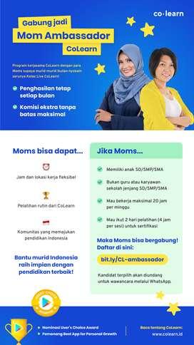 Dibuka lowongan untuk ibu-ibu seindonesia