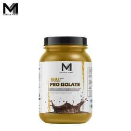 Muscle First Gold Pro Isolate 2 Lbs - lb banana bubuk fit fitness gym