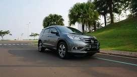 Honda CRV Prestige 2.4 AT 2013 Abu abu Memukau