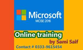 MCSE and CCNA Online training