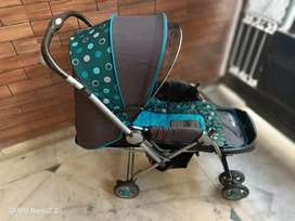 Harry&Honey(HH) baby stroller Blue  3 years old 3 level function