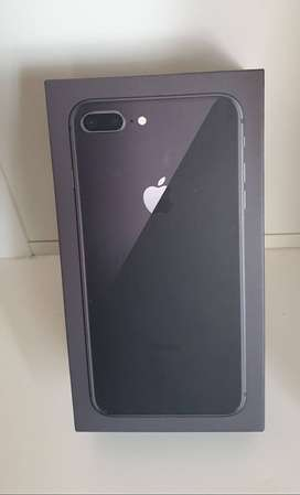 iPhone 8 Plus 128GB (Kapasitas baru) Gray , Resmi Apple International