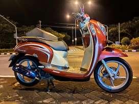 Honda Scoopy 2014 akhir ( injeksi ) Cari TT