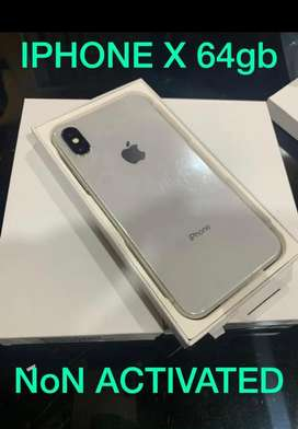 Iphone x 64  gb brand new boxed packed imported