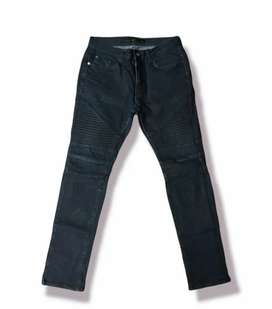 Jeans bikers pants frog