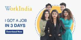 Big opportunity for girls and boys for work