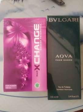 Jual parfume BVULGARI & X-CHANGE