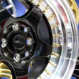 Velg Racing - S1 S603 HSR Ring15 PCD.4X100-4X114,3 ET.35-20 BML (