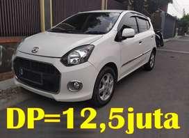 Daihatsu AYLA X Matic A/T   Bisa Kredit TDP 12,5juta ALL IN