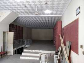 Commercial Hall with Basement, Washroom,Parking - Farrukh Town, Multan