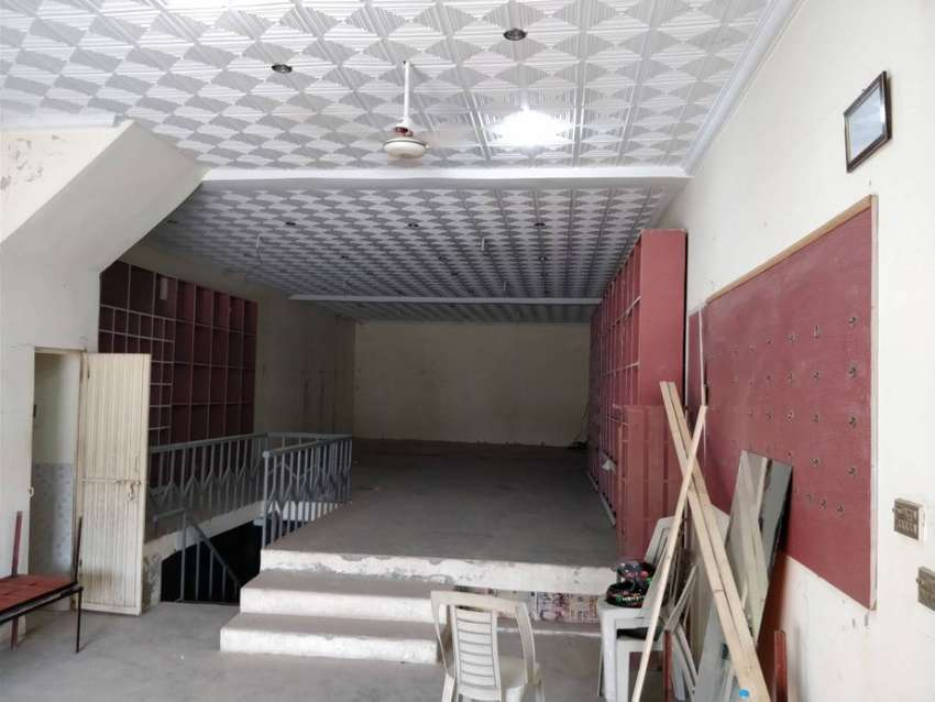 Commercial Hall with Basement, Washroom,Parking - Farrukh Town, Multan 0