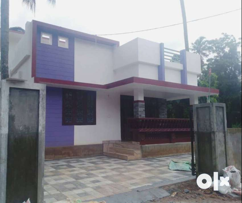 A NEW CHARMING 2BED ROOM 1000SQ FT 4.5CENTS HOUSE IN PALAKKAL,TSR 0
