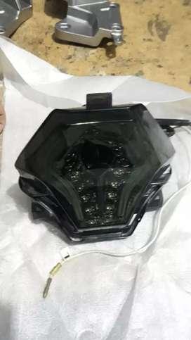 Stoplamp LED 3 IN 1 R25 Mx king