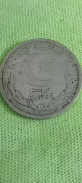 Antique pakistani old coin