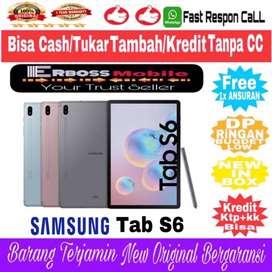 SAMSUNG TAB S6 10INCH/6GB/128GB NEW RESMI TerBukti Cash/TT/KREdIt Bisa