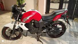 Yamaha FZS Red-White 2012 Mint Condition