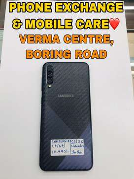Samsung A30s (4GB/64GB) Black 2 Months Old In Brand New Condition