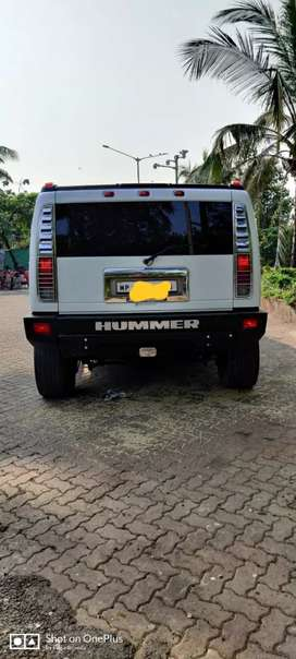 Hummer h2 2007 second owner 17000 second owner mp passing white colou