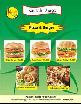 We provide lunch to offices and fresh frozen food on order