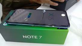 Infinix note 7 6/128gb new  9month Warranty