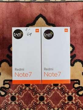 Promo 100% Xiaomi Redmi Note 7 4/64 GB Blue