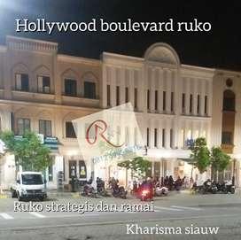 Ruko 3 Lantai Hollywood Boulevard Jababeka Cikarang,lokasi sudah ramai