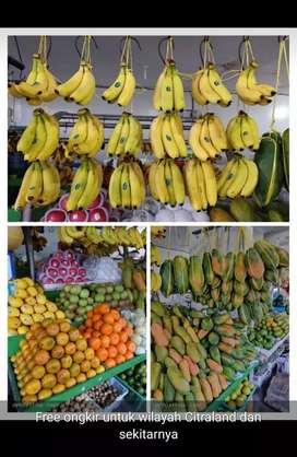 Buah2an Segar Buah Barokah Pasar Fresh Market Citraland