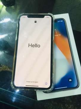 Good Condition iphone X 10 by 10 canditin
