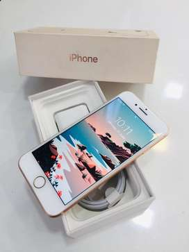 I PHONE 8 64GB ROSE GOLD COLOUR WITH BILL WARRANTY AVAILABLE