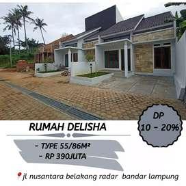 Rumah siap huni bandar Lampung