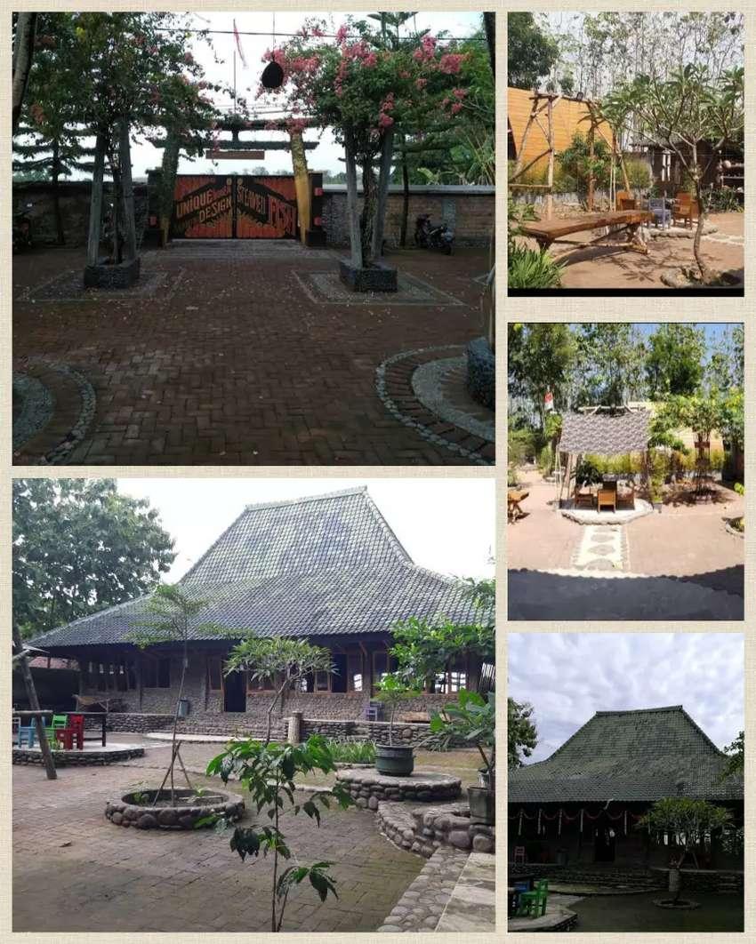 Resto & cafe Omah Slamet ,include funished,Mojopurno Kab.Madiun
