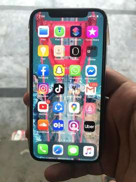 Iphone x 256 gb with all box accesories