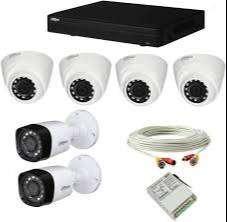 6 HD CCTV Camera setup installation