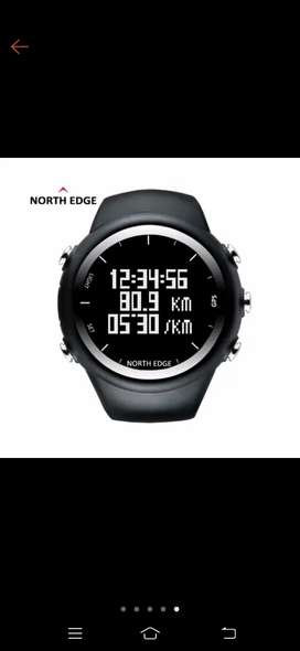 NORTH EDGE GPS X-TREX ORIGINAL JAM TANGAN RUNNING