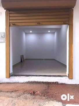 Shop, ground floor.  double height. 18 sq.mtr. front facing highway