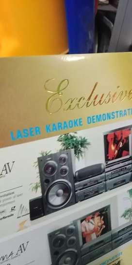 Laser disc karaoke songs Barat