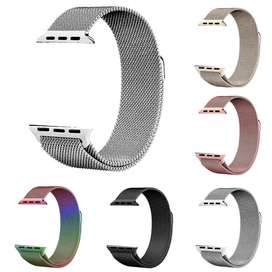 Milanese Loop for Apple Watch Series 1 2 3 4 Band Iwatch Stainless Ste