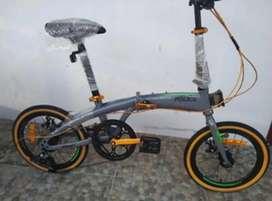 Sepeda lipat Element Police Milan