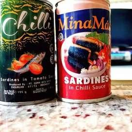 Sarden 425gr Merek chili