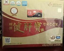 JUAL obat healthy liver made in korea untuk mengobati liver, hepatitis