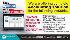 Financial Accounting System for Trading Organizations
